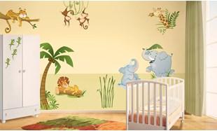 Adesivi murali per bambini, stickers per camerette   LeoStickers